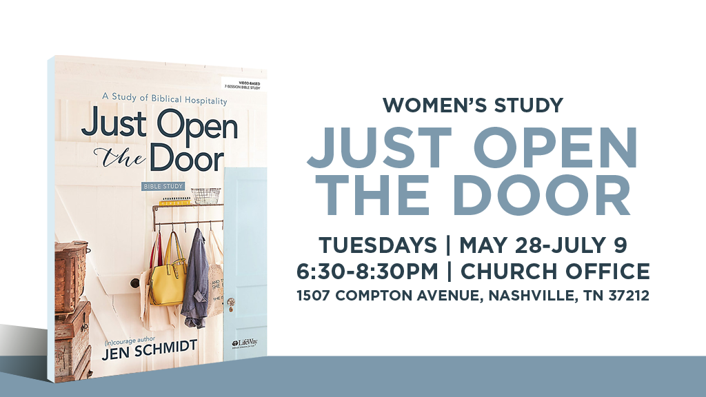 Women's Study: Just Open the Door