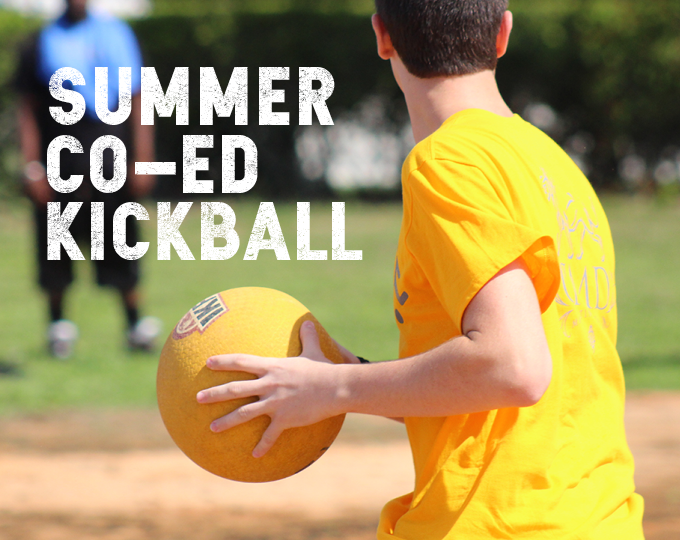 Summer Co-Ed Kickball