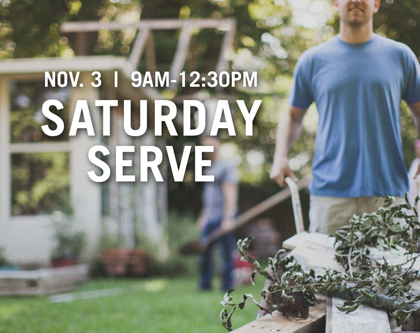 Saturday Serve